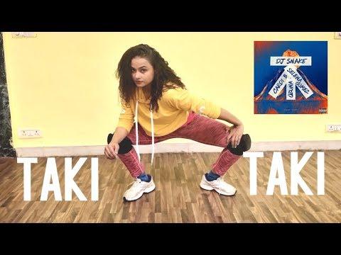 DJ Snake - Taki Taki ft. Selena Gomez   Dance cover   Aditi   Dancercise