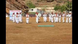 Sainik School Bijapur, Maratha Light Infantry Band at Badami  7