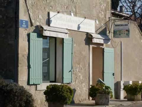 Alpilles eygali res agence youtube for Agence immobiliere 75017