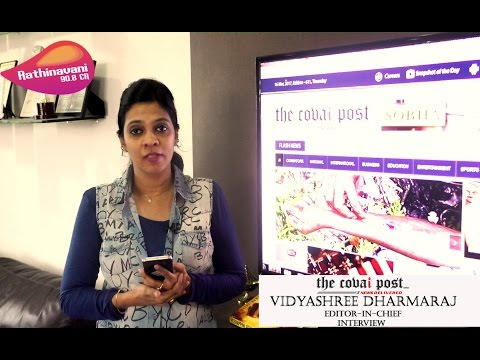 Rathinavani Interview With the Covai Post