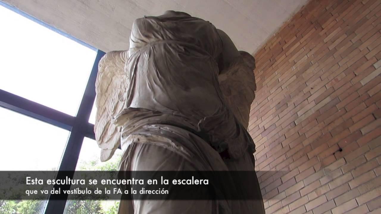 Esculturas de la fa unam youtube for Facultad de arquitectura una