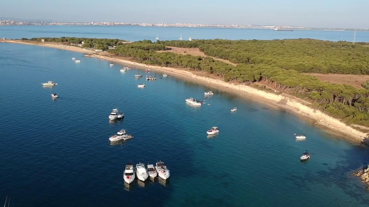 Risultati immagini per Isole Cheradi - Isola San Pietro e San Paolo – Taranto