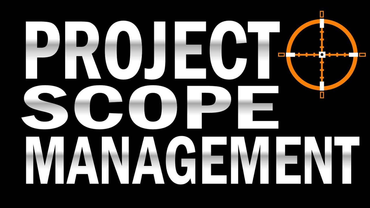how to write the scope of a project