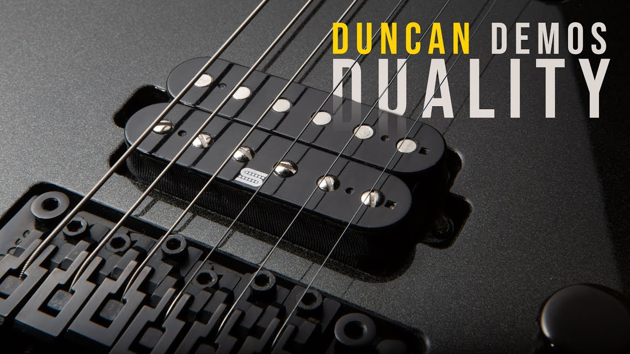 DUALITY PICKUPS Merging the best active and passive technologies | Duncan  Demo