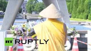 Japan: Hundreds pay respects in Hiroshima on 70th anniversary of atomic bombing