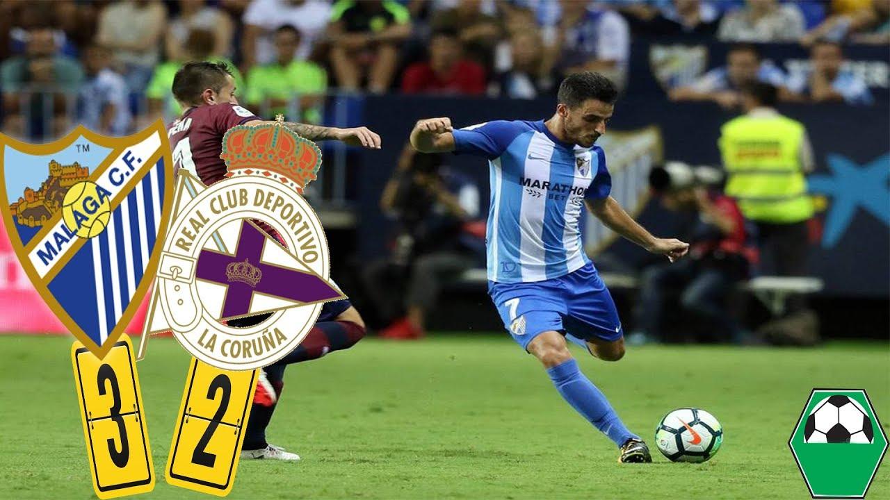 Download Malaga vs. Deportivo La Corogne 3-2 ► All Goals & Highlights HD ► 19/11/2017