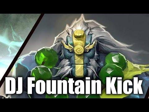 DJ Epic Fountain Kick Save The Game Fnatic vs WG TI6 SEA Semi Final Game 1 Dota 2