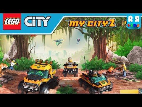 LEGO City My City 2 - NEW Jungle VEHICLES and JUNGLE Themed