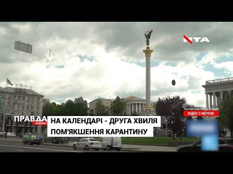 НТА - Незалежне телевізійне агентство: Віднині в Україні стартувала друга хвиля послаблення карантину