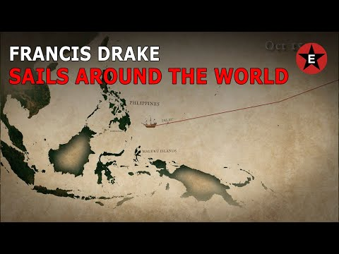 Francis Drake Sails Around the World