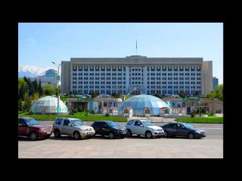 7. Almaty Akimat – former Central Committee of the Communist Party of Kazakhstan (town hall)