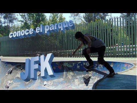 """conoce el parque """"JFK"""" Venustiano carranza"""