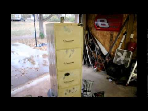 Home Made Smoker 5 Drawer Filing Cabinet YouTube