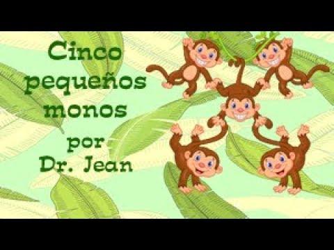 Cinco pequenos monos por Dr. Jean (Espanol)
