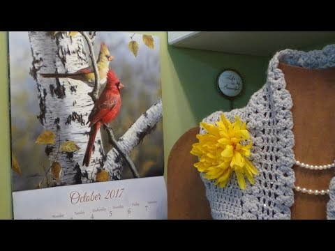 J's Crochet-Silver Skies & Golden Leaves of Autumn. EP.#74.