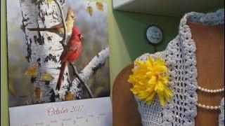 J's Crochet-Silver Skies & Golden Leaves of Autumn. EP.#74.