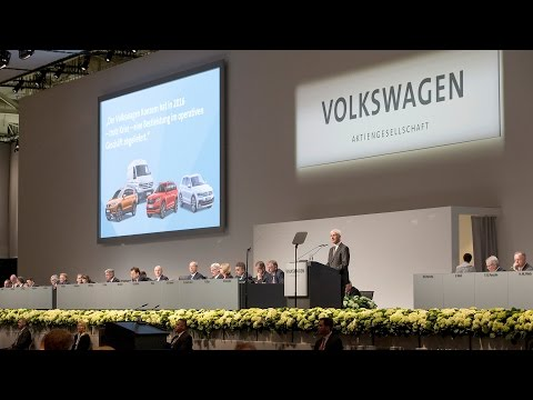 Hauptversammlung 2017 der Volkswagen AG (Annual General Meeting Volkswagen / German)