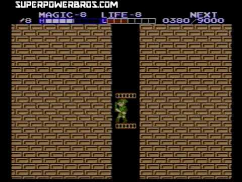 Great Palace Walkthrough - Zelda 2: The Adventure of Link (NES)