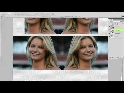 Photoshop Tutorial - How To Create A Mirror Image Effect