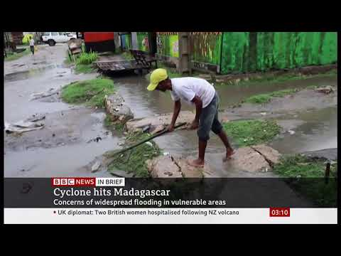 Weather Events 2019 – Cyclone Belna strikes (Madagascar) – BBC – 10th December 2019