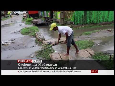 Weather Events 2019 – Cyclone Belna strikes (Madagascar) – BBC – 10th December 2019