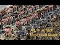 British armed forces Hell march