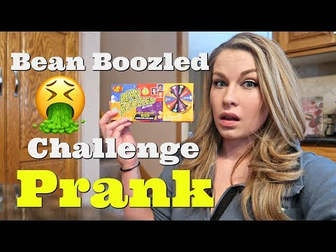 Bean Boozled Challenge Prank On Husband