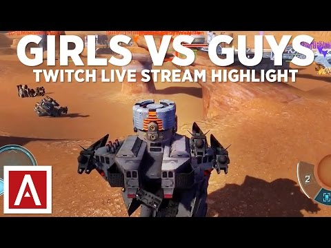 War Robots [WR] Live Stream - GIRLS vs GUYS