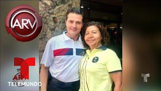 Reaparecieron Enrique Peña Nieto y Angélica Rivera | Al Rojo Vivo | Telemundo