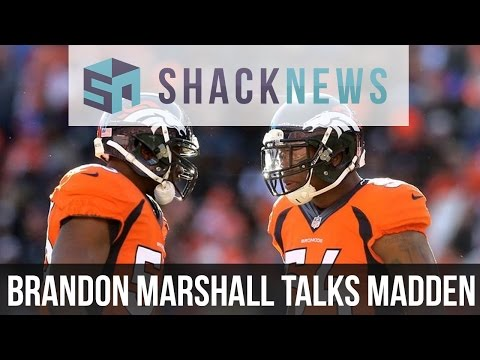 Brandon Marshall Talks Madden