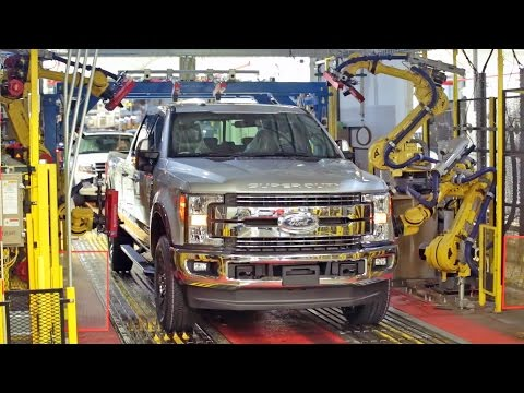 CAR FACTORY: 2017 Ford F-Series Super Duty