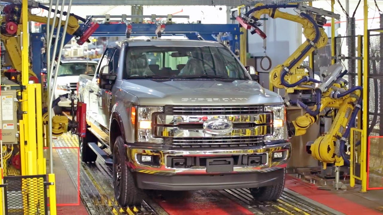 Ford f series 2017 production youtube