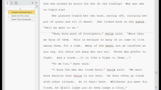 Writing the Stormlight Archive volume 2 Rysn interlude: Part 5