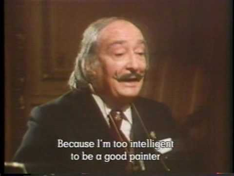 salvador dali calls himself a bad painter