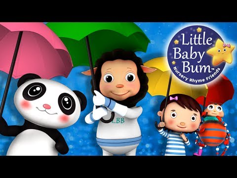 Rain Rain Go Away | Nursery Rhymes | By LittleBabyBum!