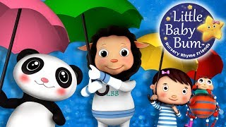 Rain Rain Go Away | Nursery Rhymes | HD Version from LittleBabyBum