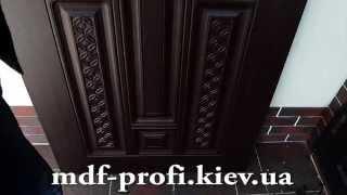Замена мдф накладки на двери(Реставрация двери. Замена мдф накладки на двери Обивка дверей http://mdf-profi.kiev.ua/obivka-dveri-mdf., 2015-05-25T08:11:27.000Z)