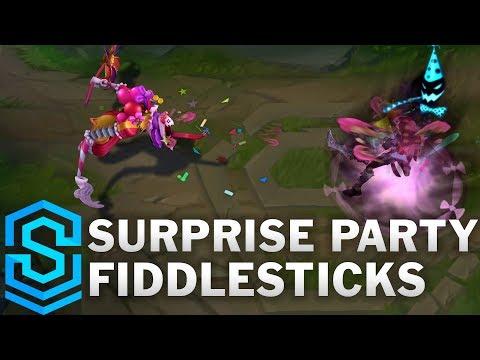 Surprise Party Fiddlesticks Skin Spotlight - Pre-Release - League of Legends