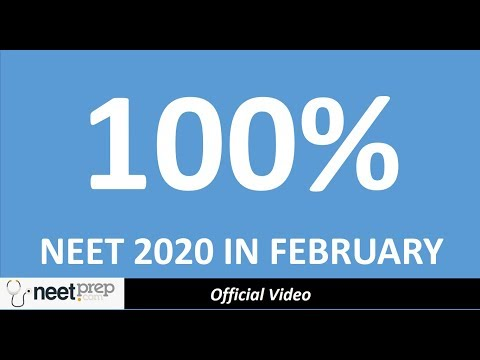 क्या NTA NEET 2020 February में करेगा?   NEET 2020 Latest News Exam Date Syllabus Preparation Tips