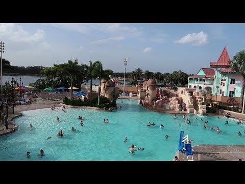 Walt Disney World Caribbean Beach Resort   Resort Tour With Construction & Temporary Food Locations