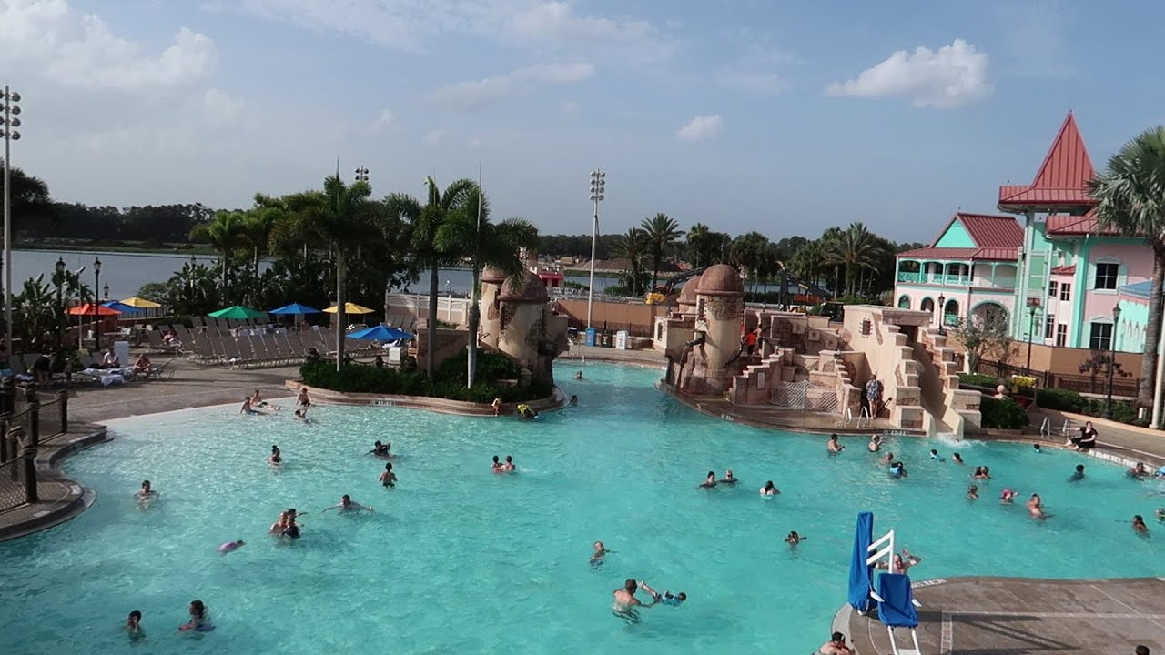 Walt Disney World Caribbean Beach Resort Tour With Construction Temporary Food Locations