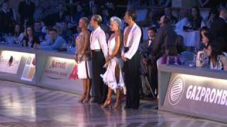 Awards ceremony | WDC World Championship Professionals Latin
