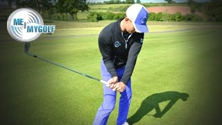 One of Meandmygolf's most viewed videos: THE BEST GOLF TIP TO STRIKE YOUR IRONS PURE!!