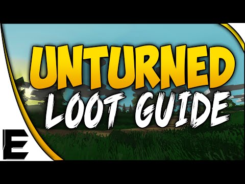 Unturned ➤ How To Find Military Loot & Rare Items [Loot Locations & Map Guide] - SURVIVAL GUIDE