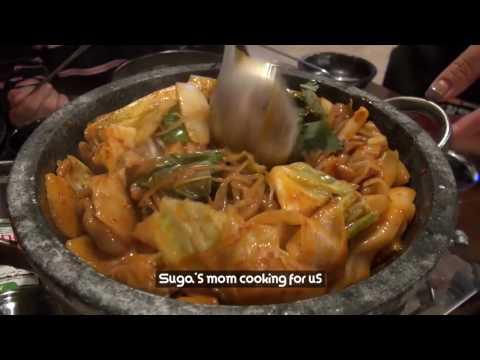 [fancam Fans] BTS SUGA Mother Restaurants in Daegu