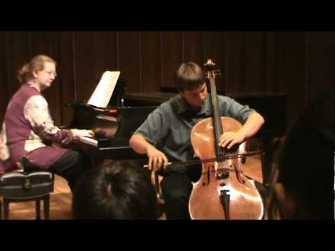 Gavotte Op. 23, No. 2 By: David Popper NCI 2011