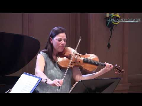 VIOLA MASTERCLASS WITH KAREN DREYFUS AT THE MUSIC ACADEMY OF THE WEST