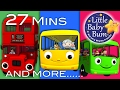 Wheels On The Bus | All The Videos! | 27 Minutes Compilation From Littlebabybum! video