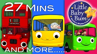 Wheels On The Bus | All Wheels On The Bus Videos | Little Baby Bum | Nursery Rhymes for Babies thumbnail