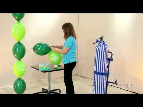 how to make a balloon arch by crestline item 110494 youtube. Black Bedroom Furniture Sets. Home Design Ideas